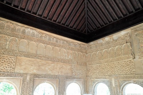 Interior decoration in arabic palace