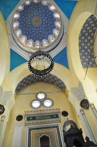 Interior decoration of a mosque