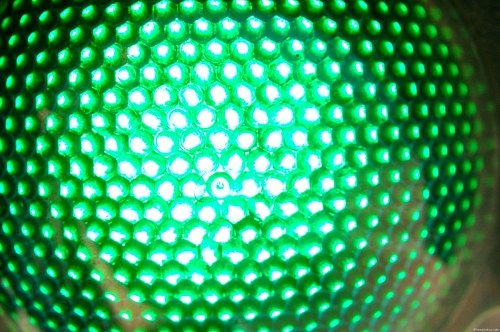 Free photos: LED green lights