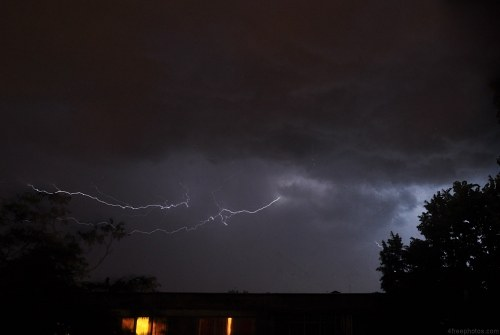 Free photos: Lightning strike