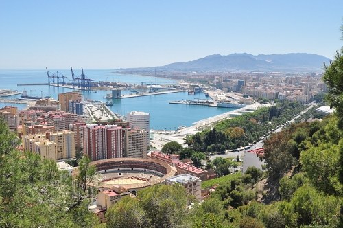 Free photos: Main port of Malaga