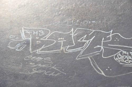 Metal graffiti