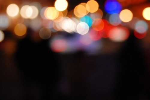 Free photos: Luces multicolores