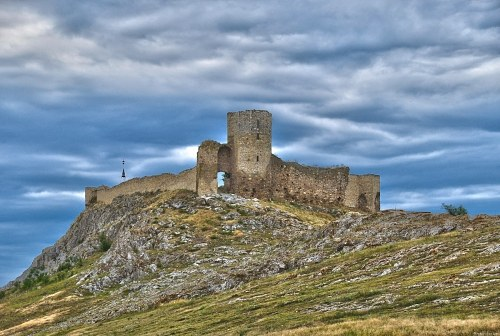 Old hill top castle