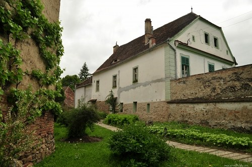 Old house and garden