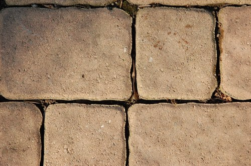 Free photos: Pavement tiles under sunset light