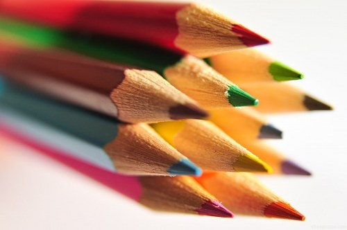 Free photos: Crayons groupés