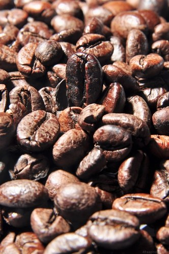 Portrait image of coffee