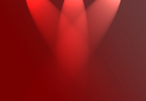 Free photos: Red spotlights
