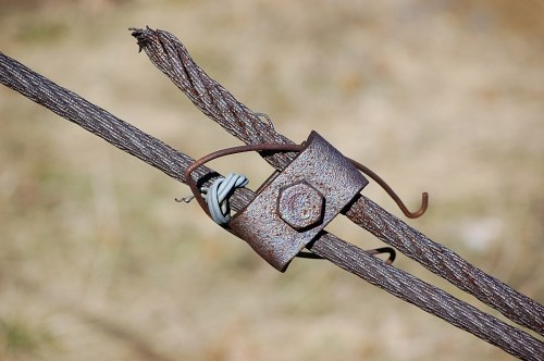 Free photos: Rostige Metall-Kabel