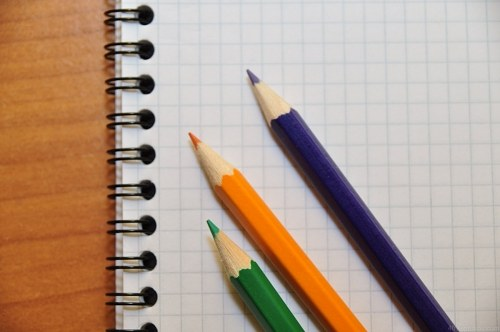 Free photos: Crayons de couleur sur papier de Sharp
