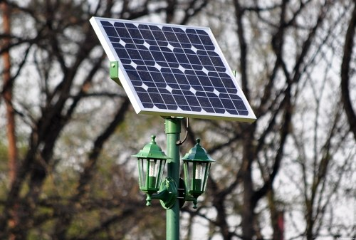 Free photos: Solar panel on a pole