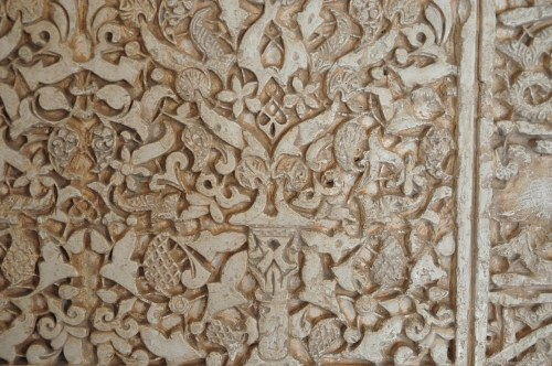 Stone carving decoration