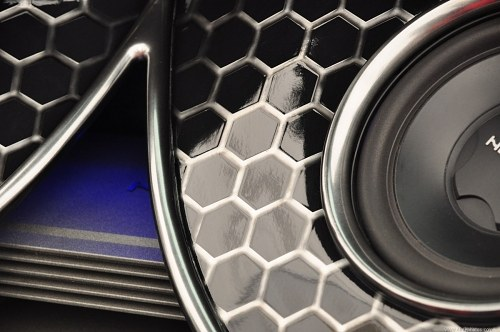 Free photos: Subwoofer in the back of a car