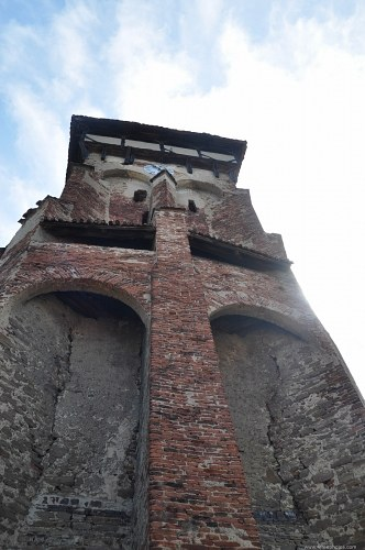 Tall fortified tower