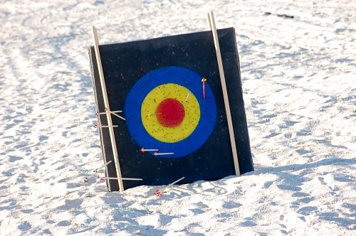 Target for arrows