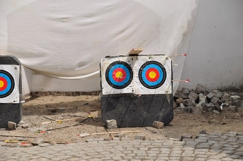 Free photos: Targets for shooting with arrows