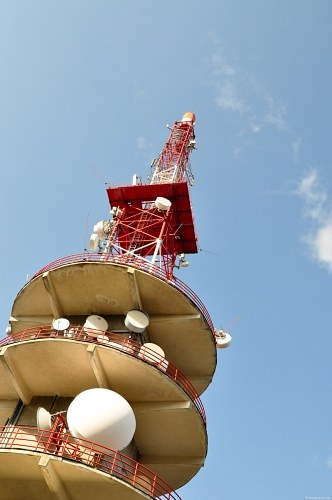 Free photos: Telecommunication tower with antennas