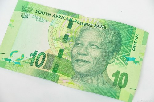 Ten rand banknote