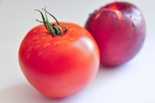 Free photos: Tomaten und Nektarinen