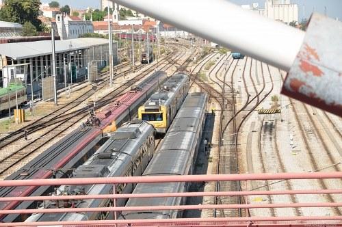 Train depo