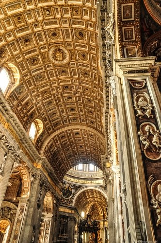 Vatican cathedral interior