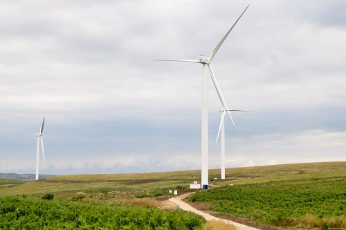 Free photos: Wind turbine park