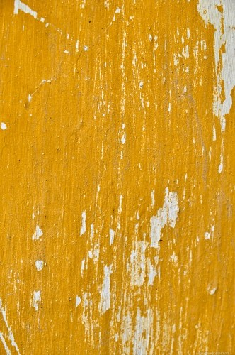 Yellow grunge paint wall