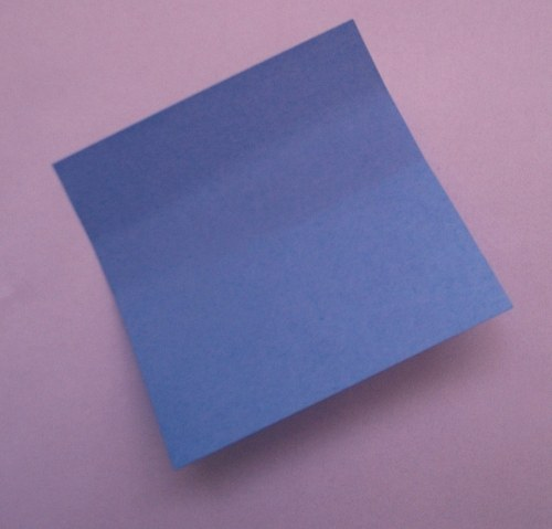 Blue post-it