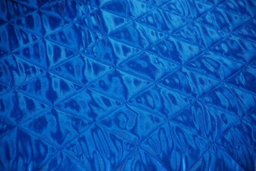 Free photos: Blue silk bed sheet