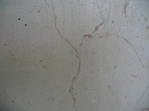 Concrete wall with cracks
