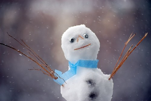 Free photos: Cute snowman