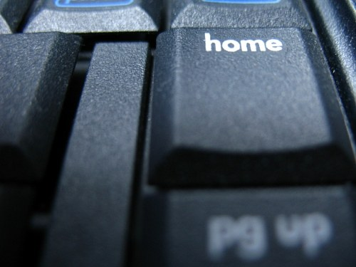 Home key on keyboard