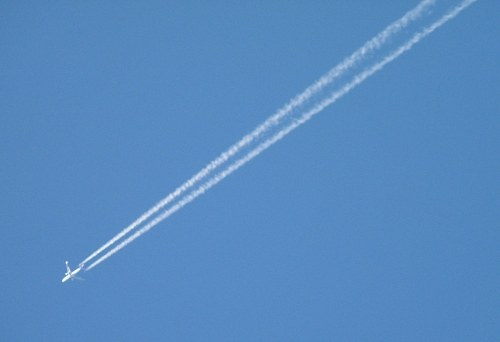 Free photos: Jet contrail