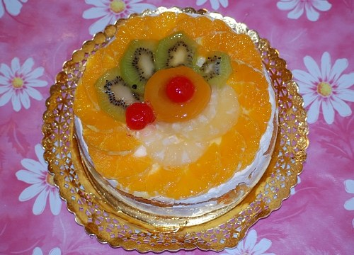 Free photos: Kiwi and orange cake