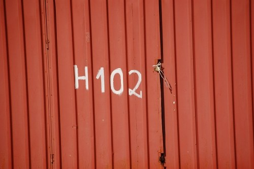 Number on container