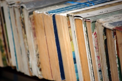 Free photos: Old books on shelf