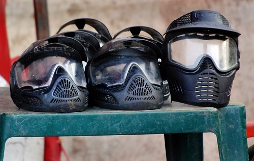 Free photos: Cascos de Paintball