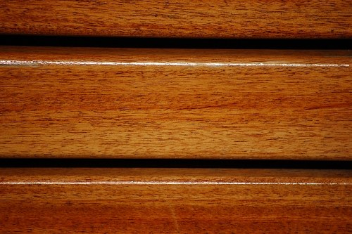 Polished wood
