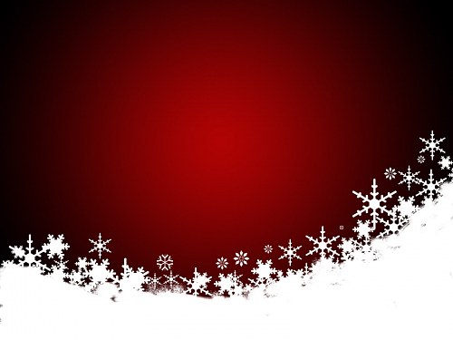 Red Christmas illustration free photo