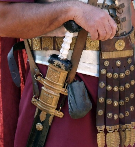 Roman legion sword free photo
