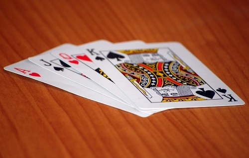 Royal flush no poker