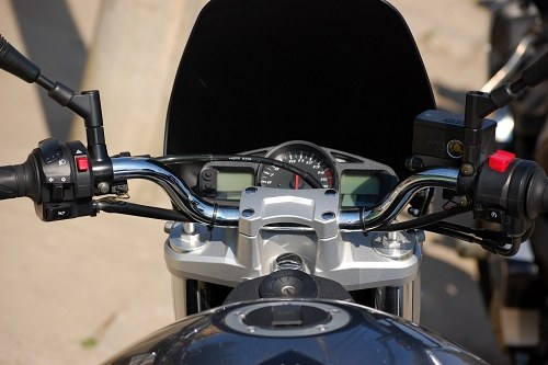 Sport motorcycle dashboard