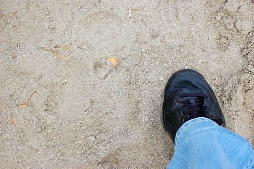 Free photos: Stepping im Sand
